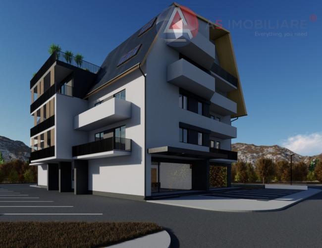 Penthouse 4 camere cu scara interioara si incalzire in pardoseala, Brasov