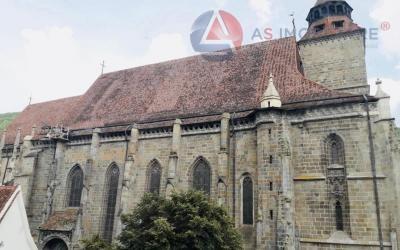 Imobil pretabil rezidenta/regim hotelier, cu panoramica vedere, Biserica Neagra, Brasov