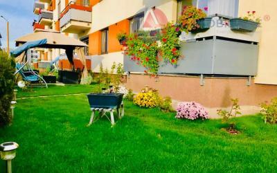 Apartament in armonie florala si gradina proprie de 82mp, Tractorul, Brasov
